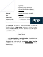 Demanda Negligencia Medica - abogado Giovanni Huenchupil Coñomán