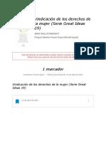 """Notas de """" Vindicación de los derechos de la mujer (Serie Great Ideas 19) """""""