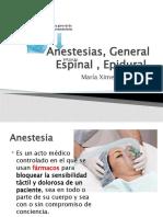 Anestesia Espinal , Epidural