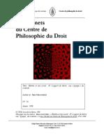 Habitus et lien social IV (Maesschalck, Marc)