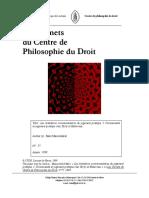 Les limitation (Maesschalck, Marc)