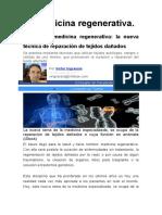 La medicina regenerativa