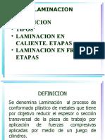 Tema 6. LAMINACION