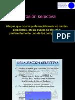 7. Corrosión selectiva