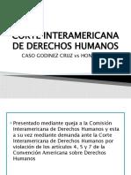 Corte Internacional de Derechos Humanos guias caso Godinez cruz