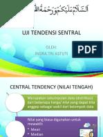 UJI TENDENSI SENTRAL