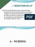 Nursing Et Réfection Du Lit Soins Infirmiers