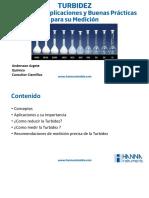Conceptos, aplicaciones y buenas prácticas para la medición de turbidez...