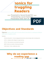 phonics for struggling readers