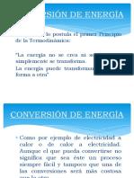 CONVERSIÓN DE ENERGÍA TERMODINÁMICA 2020