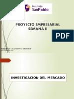 INVESTIGACION DE MERCADO- SEMANA 2