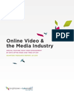 Whitepaper Online Video and Media Industry q3 2010