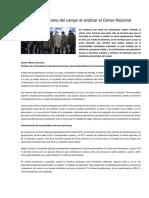 Suescun Carlos_Desolador panorama del campo al analizar el Censo Nacional Agropecuario