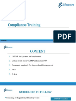 Refresher training Compliance