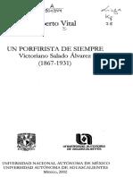 Alberto Vital Salado Alvarez Porfirista de Siempre