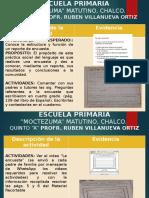 EVIDENCIAS MOCTEZUMA MATUTINO QUINTO