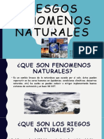 RIESGOS FENOMENOS NATURALES power