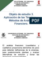 APLICACIÓN DE LAS TÉCNICAS Y MÉTODOS DE ANÁLISIS FINANCIERO