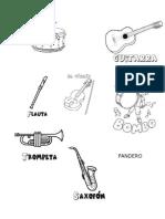 Instrumentos dibujar categorizar