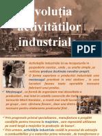 2. Evolutia Activitatilor Industriale
