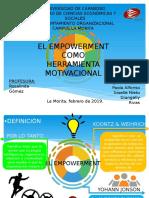 EMPOWERMENT O EMPODERAMIENTO (Presentación)