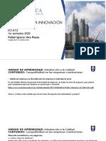 CLASE 2 - Competitividad en empresas constructoras - ICI 512 2020