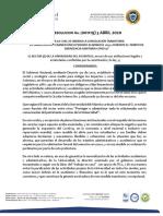 RESOLUCION CONGELACION PAGO HABILITACION Y OTROS ESTUDIANTES UNIATLANTICO CORRECCION