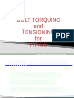 BOLT TORQUING AND_TENSIONING