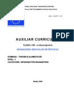 Organizarea  serviciilor de protocol