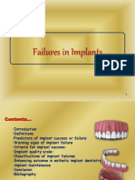 Implant failure