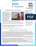 Newsletter UNESCO Timor-Leste # 1