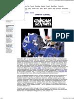 Gundam Sentinel - GEARS Online