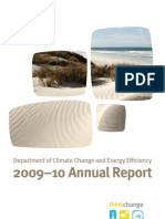 Department of Climate Change and Energy Efficiency Annual Report 2009-10