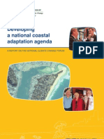 Developing a national coastal adaptation agenda