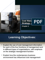 COST MANAGEMENT AND STRATEGY OVERVIEW