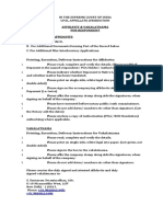 Supreme Court - Template Vakalatnama & Affidavit Set for Respondents (2015).docx
