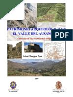 Patrimonio Arqueológico en el Valle del Ausangate. Amenazas de una destrucción irreparable
