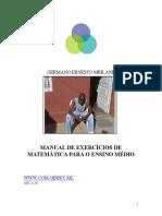 EXERCICIIOS DE MATEMATICA