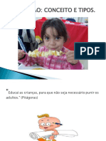 Educação CONCEITO E TIPOS
