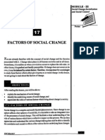Factors of Social Change