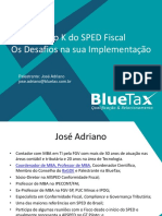 Bloco K do SPED Fiscal-Blue Tax