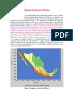 Regiones Sísmicas en México
