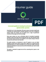 Consumer guide to buying household solar panels - Clean Energy Council