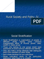 Rural Society and Polity- Lecture IV