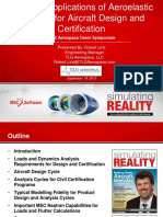 Practical Applications of Aeroelastic Analysis for Aircaft Design and Certification