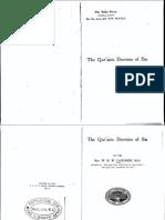Gardner - The Qur'anic Doctrine of Sin