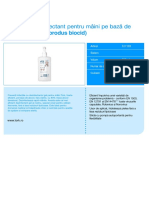 Tork gel dezinfectant pentru mÃ_¢ini pe bazÃ_Æ_ de alcool 500 ml (produs biocid)