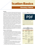 vehicles-Fortification of foods with vitamins and minerals