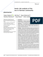 Prospective systemic risk analysis of the dispensing process in Germany community pharmacy