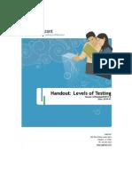 03 Handout Levels of Testing v1 1 .0